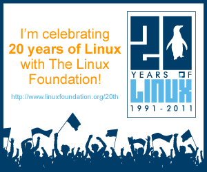 20 years Linux